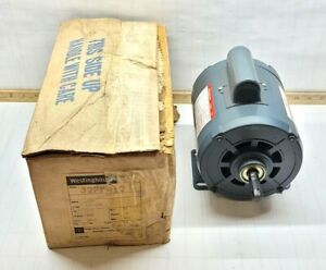New Westinghouse 1 3 Hp Electric Motor 115 230 Vac 1 Phase B56 1425 Rpm 327p412