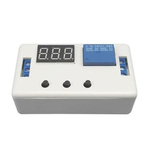 Dc 12v Led Digital Time Delay Relay Module Programmable Cycle Relay Switch Si