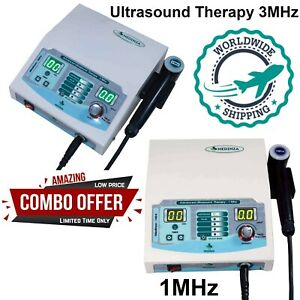New Combo Ultrasound 1mhz 3mhz Therapy Unit Ultrasound 1 3mhz Therapy Machine
