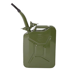 5 Gallon Gas Can Gasoline Container Tank Emergency Backup Diesel With Pipe Us