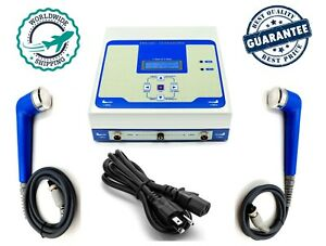 Portable Ultrasound 1mhz 3mhz Therapy Unit Ultra Physical Therapy Machine Dhl