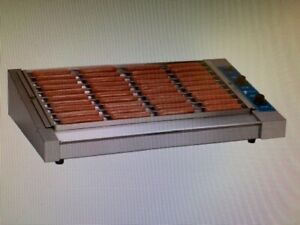 Antunes Hot Dog Corral Model Hdc35 With Bun Warmer Wd 35 And Sneeze Guard Sg35