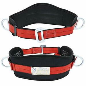 X Xben Portable Safety Belt Kit With Hip Pad And 2 D Rings Safety Climbing