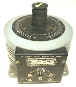 Variac Powerstat 136b 2 Tested Working 0 To 140 Volts 22 Amp Monster