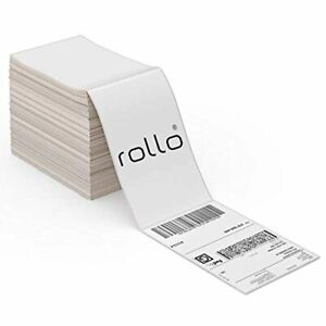 Rollo Thermal Direct Shipping Label pack Of 500 4x6 Fan fold Labels Commerci