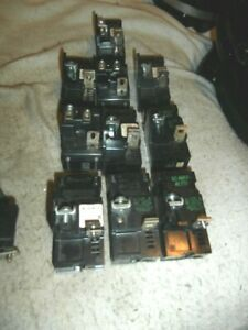 10 Ite Pushmatic Circuit Breakers 20 And 30 Amp 1 Pole