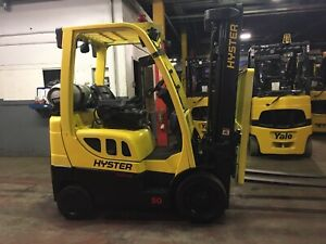 2017 Hyster 5000 Lb Forklift With Ss fp Triple Mast
