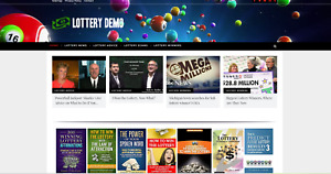 Lottery Guides Affiliate Product Site 100 Automated Free Domain Hosting