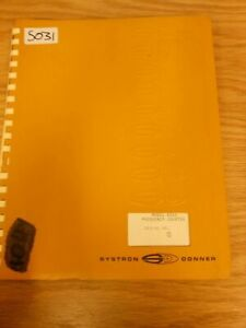 Systron Donner Manuals Various Available Loc Sd xx