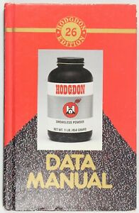 Vintage Hodgdon Data Reloading Manual 26 Edition Dated 1992 Hard Cover Book RARE $49.95