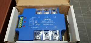 480vac 60a 3 Phase Solid State Relay Crossing Panel Mount I autoc Kudom a7b4