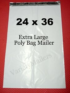 1 Poly Bag Mailers 24x36 Extra Large Self sealing Shipping Bags
