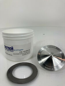 Spectron Aluminum Sampler Cone 10001 Thermo X series Vg1001 al Vg Icp ms