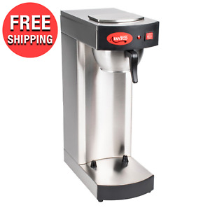 Compact Pourover Airpot Hot Coffee Maker Brewer Restaurant Commercial Office New