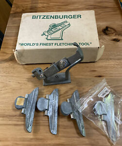 Blitzenburger S 1000 Fletching Tool With Box And Four Clamps
