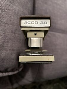 Vintage Acco Metal Stapler Model 30 Made In Usa Works Great