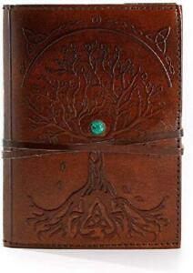 Refillable Leather Journal Writing Notebook Antique Handmade Leather Bound New
