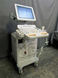 Philips Hd7xe Diagnostic Ultrasound System With 2 Transducers Doppler Probe