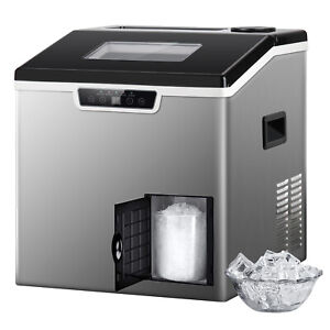 Ice Maker crusher Ice Making Machine Ice Shaver Countertop Self clean lcd Us