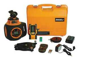 Johnson 40 6582 Rotary Laser Level ext red 2000 Ft