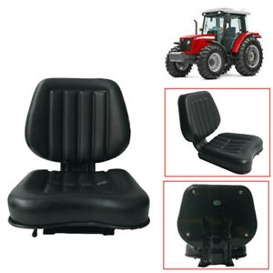 Small Pvc Tractor Seat Excavator Lawn Back Rest Adjustable Waterproof Seat