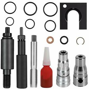 Cylinder Head Repair Kit Fuel Injector Sleeve Tool For Ford 2003 2010 6 0l
