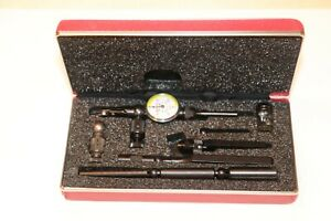 Starrett Last Word Indicator With All Attachments Grad 0005 Excellent Used