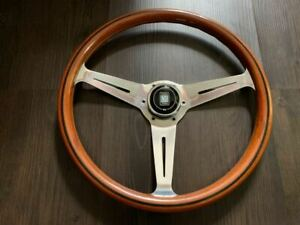 Nardi Classic Wood Steering Wheels Polished 365mm Mx 5 From Japan