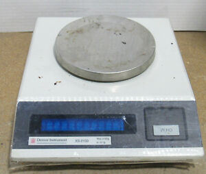 Denver Instruments Xs 2100 Top Loading Balance Scales W Max Capacity 2100g