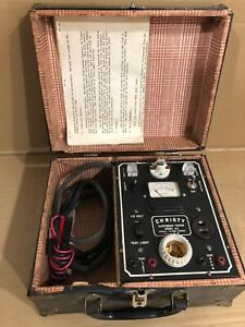 Vintage Christy Electronic Tester Model A2 With Instructions