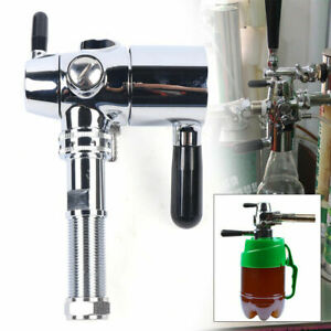 8 Stainless Draft Beer Faucet Home Brewing Party Pump With Beer Tap De foaming