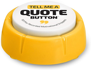 Motivational Quotes Button Positive Thinking Cool Office Desk Decor Gadget Gift