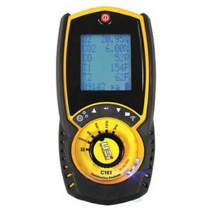 Uei Test Instruments C161 Combustion Analyzer residential lcd