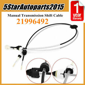 Car 5 Speed Manual Transmission Shift Cable For 2004 2007 Saturn Vue 21996492