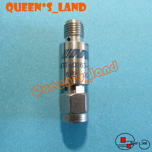 1 Midwest Microwave Dc 18ghz 6db 2w Sma Coaxial Fixed Attenuator