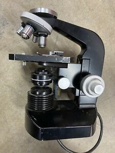 Nikon Model S Upright Compound Microscope as is