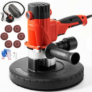 Vevor 9 Drywall Sander 1200w Wall Grinder 6 Variable Speed W Dust Collection