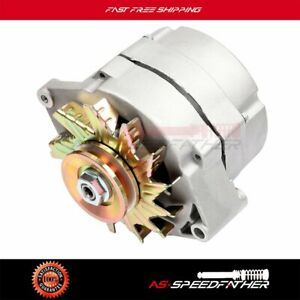 100 New Alternator For Chevy 110 Amp 1 Wire One Wire 1965 85 7127 Se105