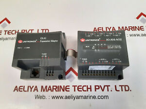 Unitronics Io ai4 ao2 Expansion Module With Ex a1 Expansion Adapter