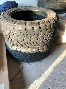 2 Used Pair 37x13 50r22 Toyo Open Country Mt