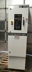 Hobart Powermaster 60kva Solid State Frequency Converter Ground Power Adv