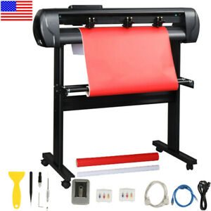 34 Vinyl Cutter Plotter Cutting Sign Machine For Diy Sign W software Stand Us