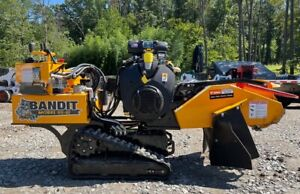 2020 Brush Bandit Sg40 Track Stump Grinder With Only 46 Hours 3992