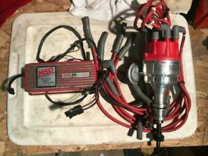 Small Block Ford Msd Pro Billet Distributor With 6a Box Used