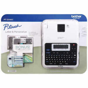 Brother P touch 2040c Label Maker New With 2 Extra Tapes