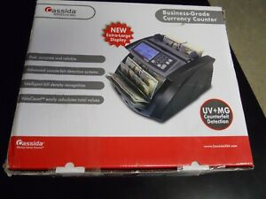 Cassida 5520 Uv mg Money Counter With Counterfeit Bill Detection