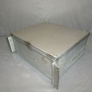 Stainless Steel Electrical Enclosure Junction Box 14 x12 x6 W back Plate
