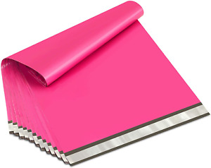 Poly Mailers 24x24 Inch Hot Pink 50 Pack Extra Large Shipping Bags Strong Thick