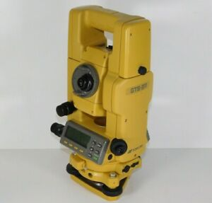 Topcon Gts 311 Heavy Duty Total Station Land Survey Instrument Equipment Nw1325