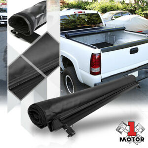Short Bed Truck Tonneau Cover 6ft Soft Roll Up Fleetside For 16 21 Toyota Tacoma